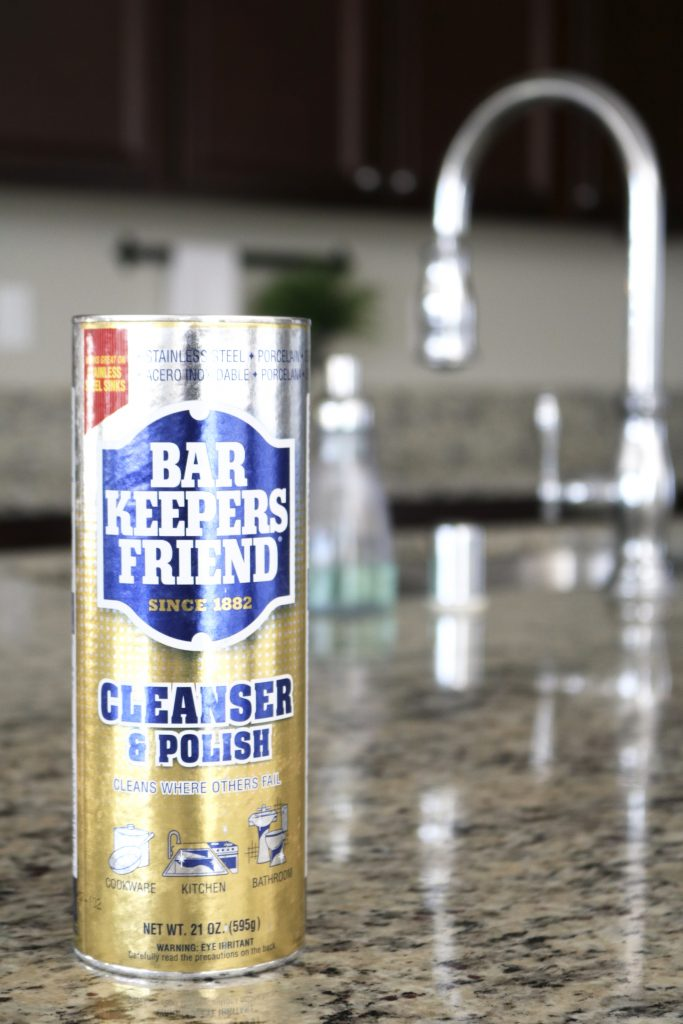 Bar Keepers Friend can clean anything!