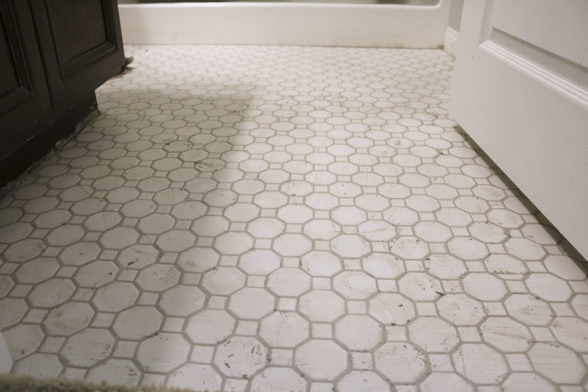Adventures in Floor Tiling: Part 2, The Install – TIMBER + CROW